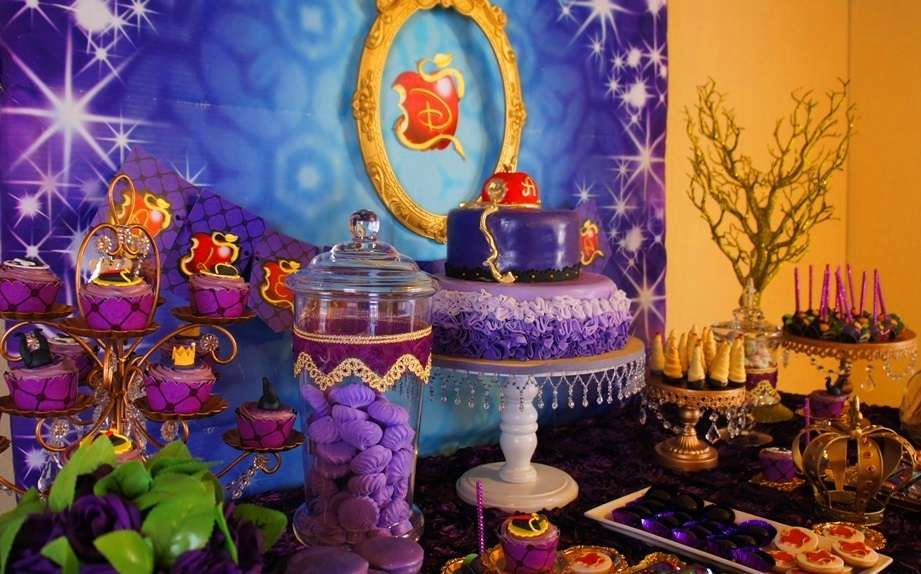 You Have To See This Disney Descendants Birthday Party More Ideas At CatchMyParty
