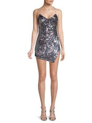 ee20b5dac3ce FOR LOVE & LEMONS Showtime Sequin Mini Dress. #forlovelemons #cloth ...