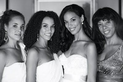Donna Summer and her 3 beautiful daughters.