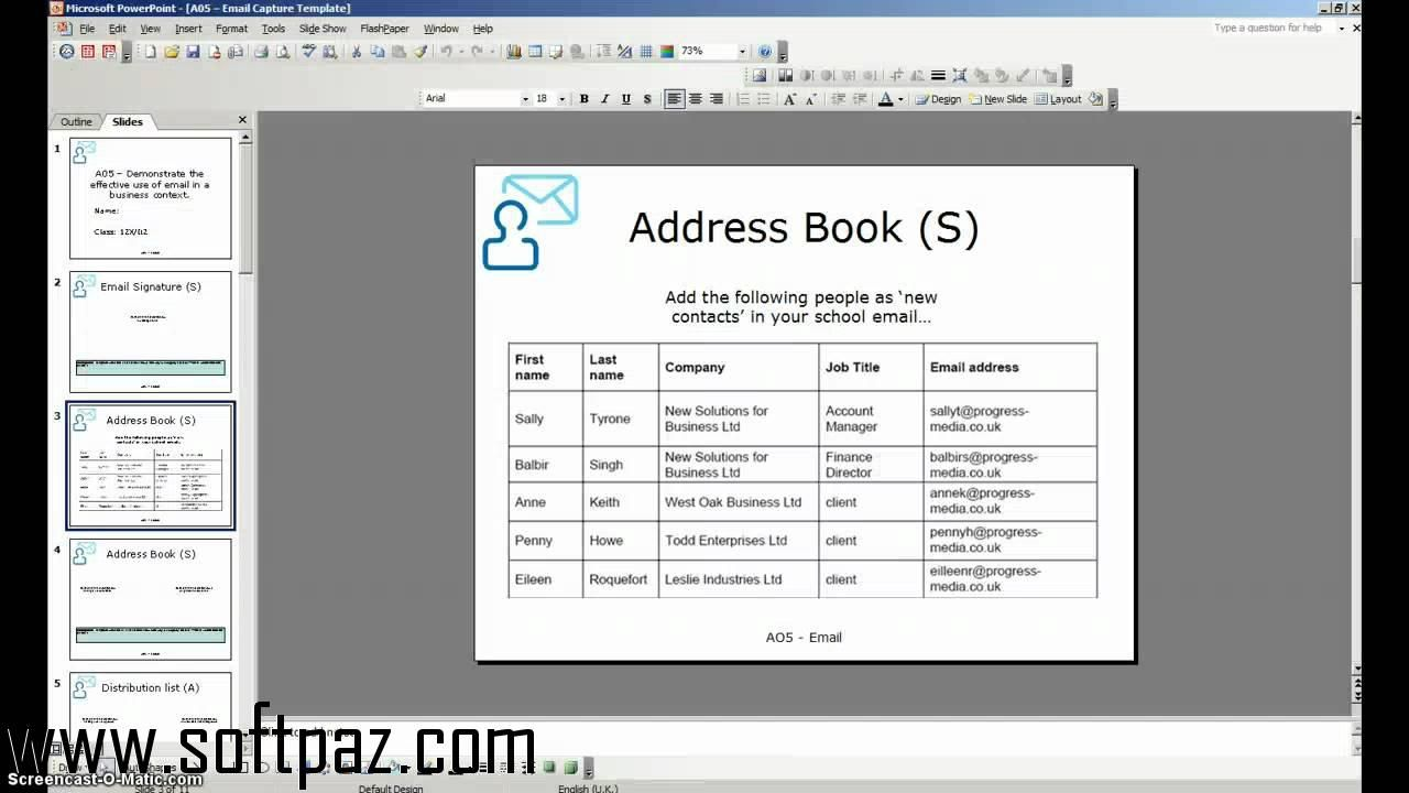 windows address book download