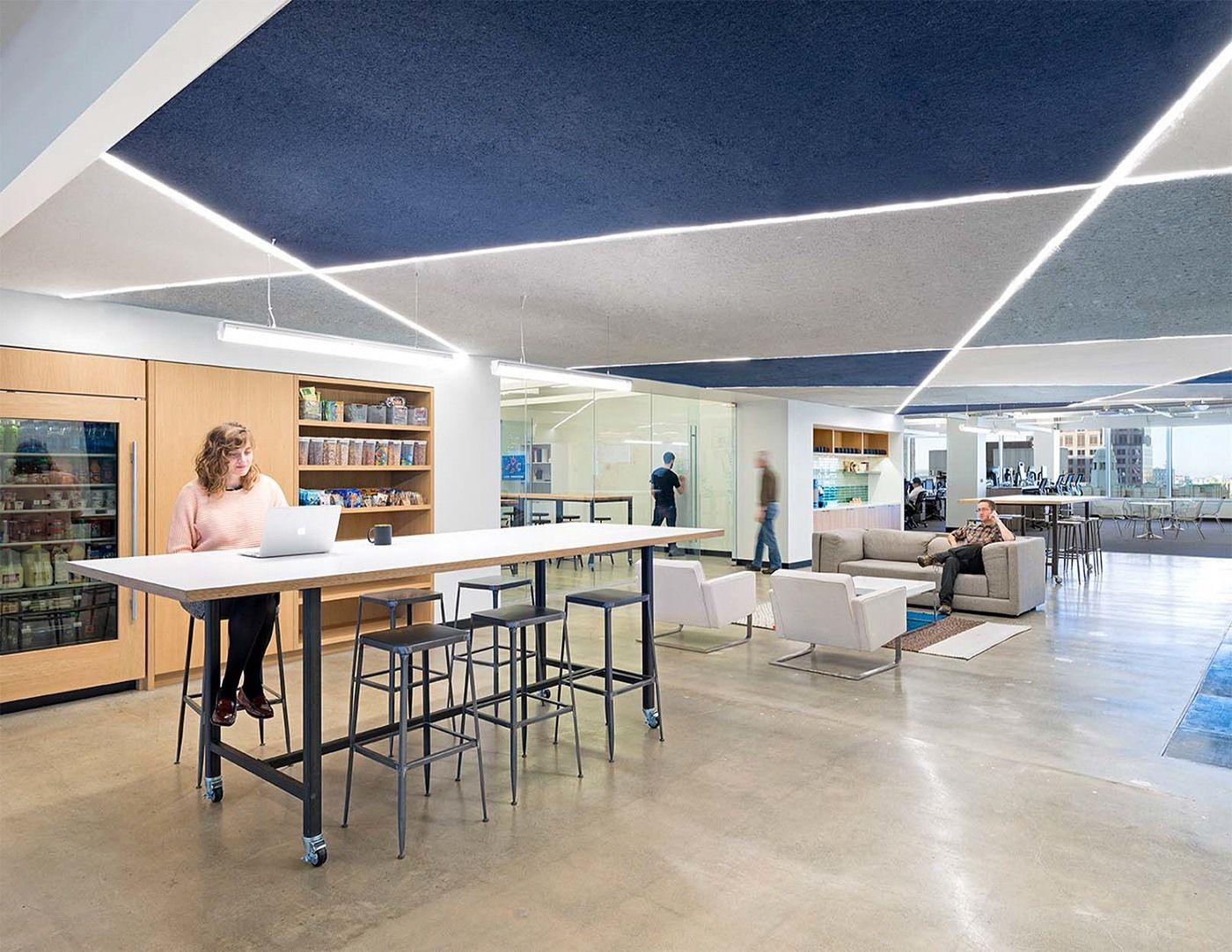 Another Look Inside Lookouts San Francisco Office Cool SpaceOffice SpacesOffice CeilingStartup