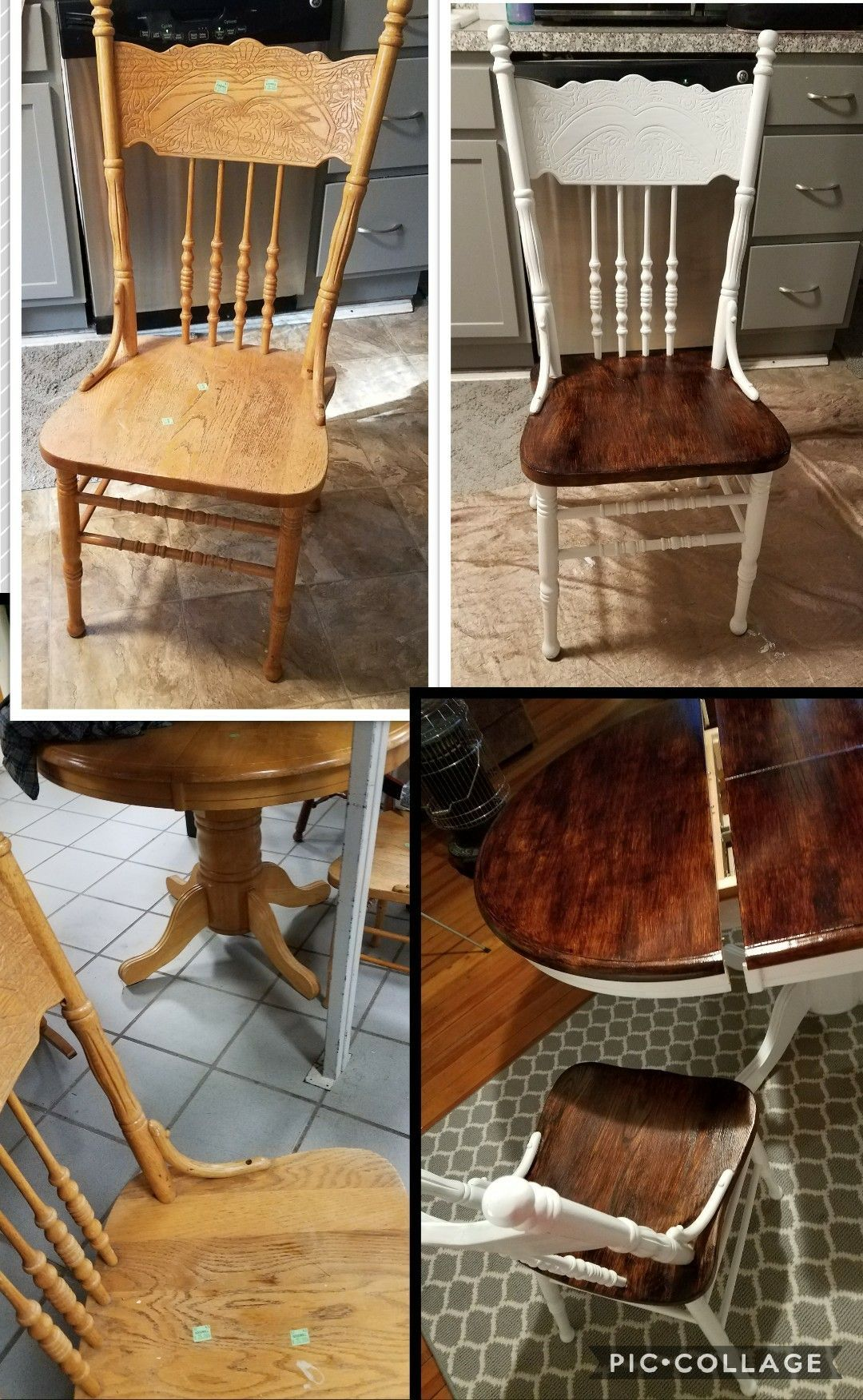 Kitchen Set Table N Chairs