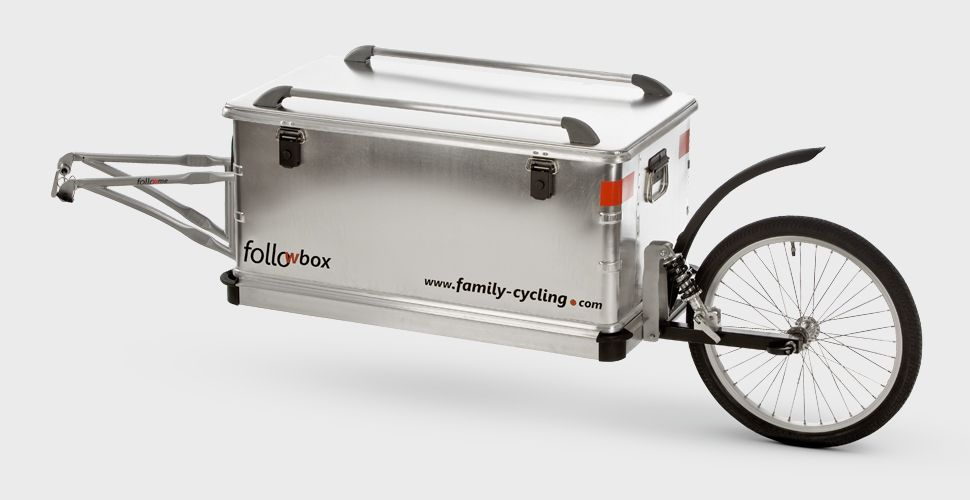 Follow Box Fahrrad Anhanger Fahrrad Einrad