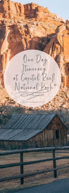 The Absolute Best Things To Do In Capitol Reef National Park - The Wandering Queen