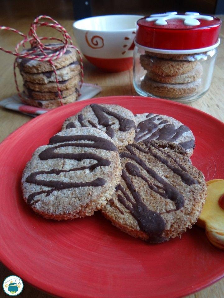 Photo of Biscotti integrali al cocco e cioccolato