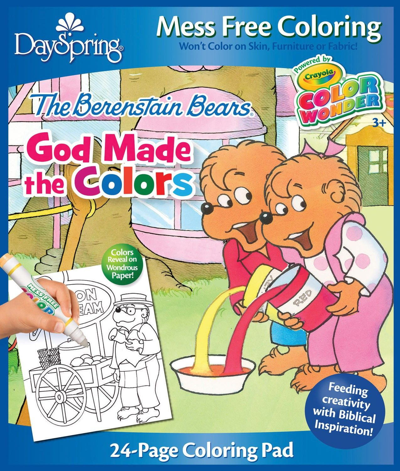 Enjoy magically mess-free coloring with The Berenstain Bears! This ...