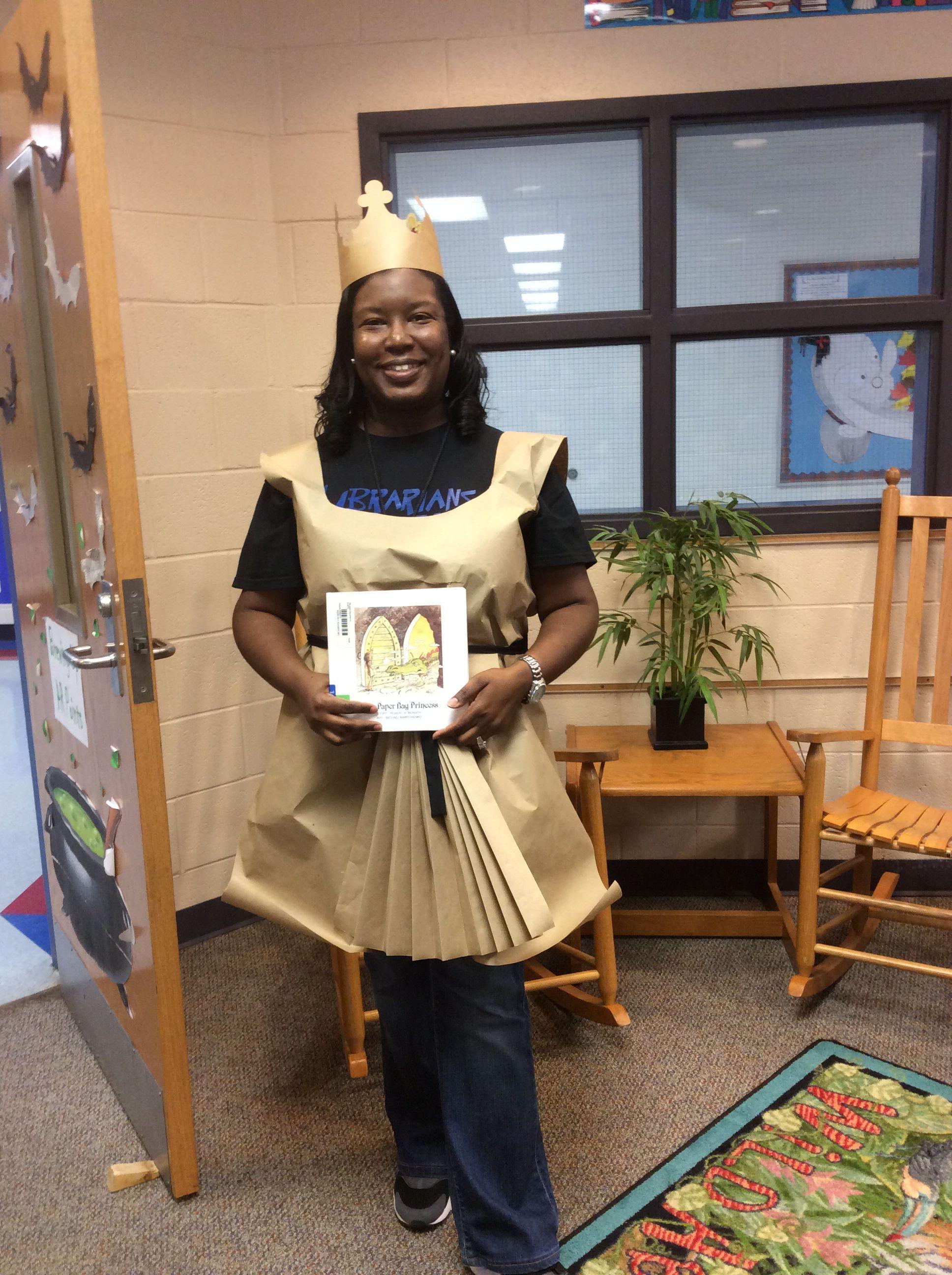 My Paper Bag Princess Costume #paperbagprincesscostume My Paper Bag Princess Costume #paperbagprincesscostume