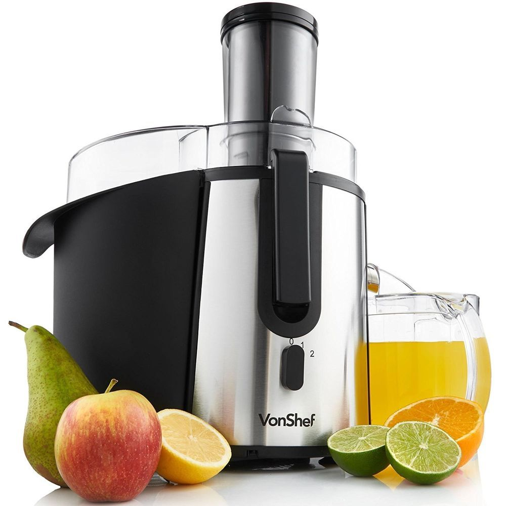 Whole Vegetables Fruits Juicer Electric Juice Machine Large Cup /& Pulp Container
