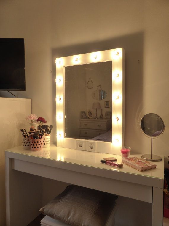 Makeup Mirror With Lights Vanity Mirror Hollywood Mirror Wall
