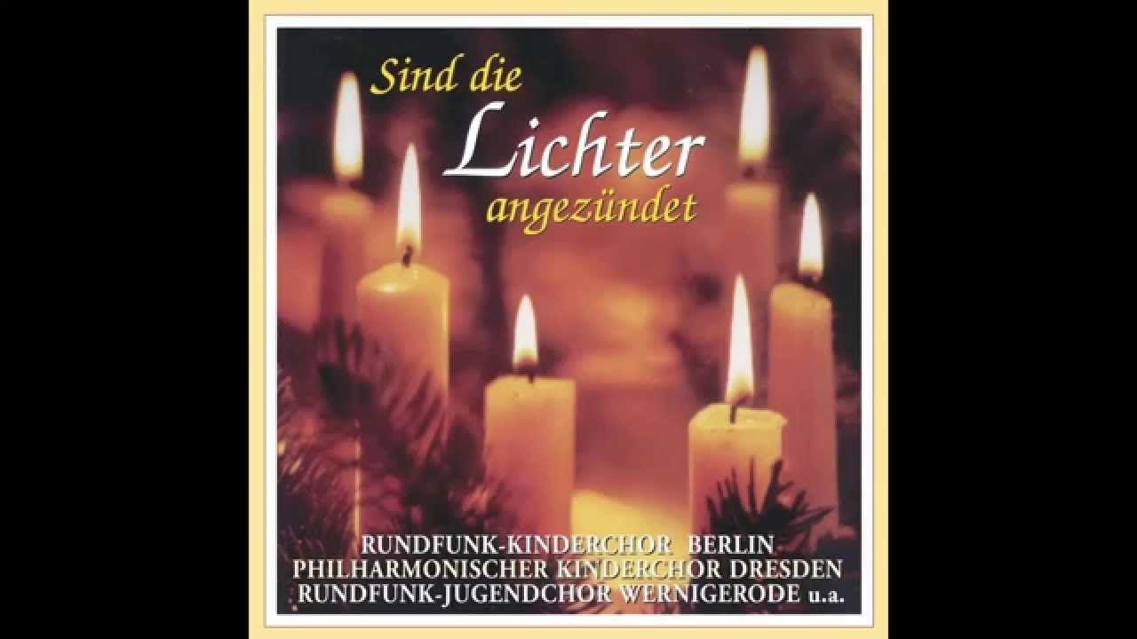 Sind die Lichter angezündet (das komplette Album) - Weihnachtslieder ...