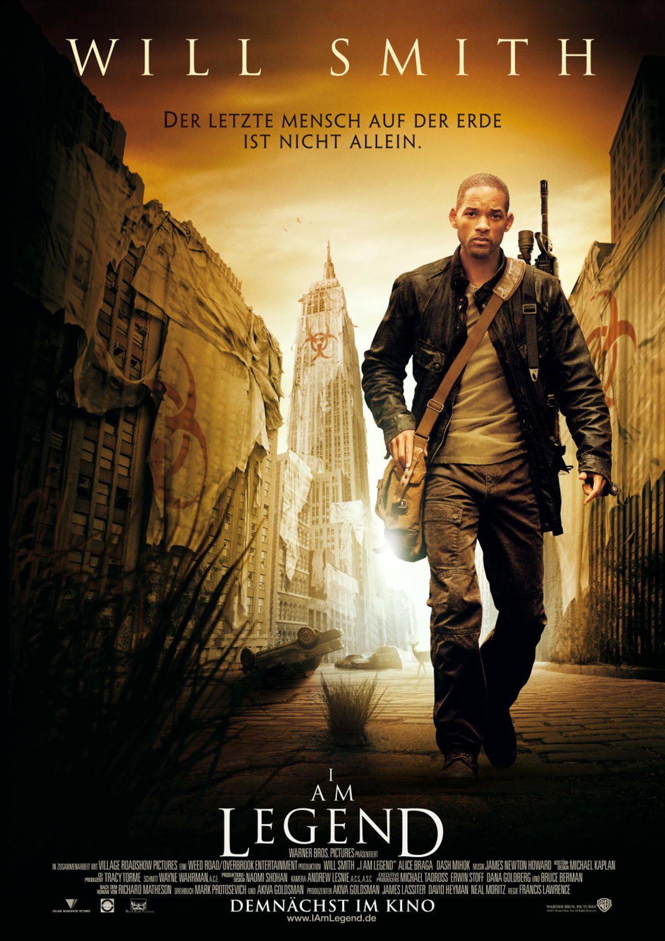 I Am Legend Poster Filme Film Musik Bucher Coole Filme