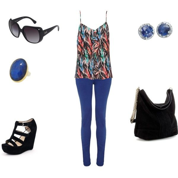 My first ever outfit made on POLYVORE! Many more to come...