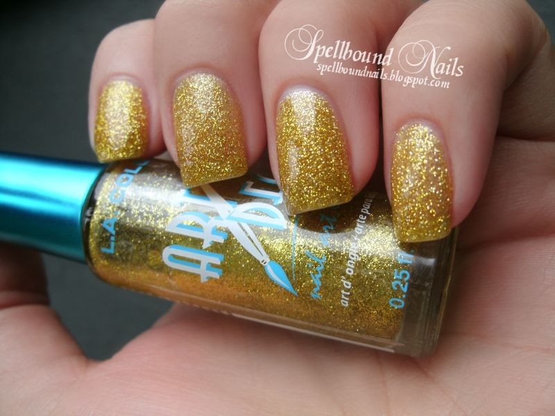 La colors art deco gold brand name nail polish i own nail polish collection la colors art deco gold prinsesfo Gallery