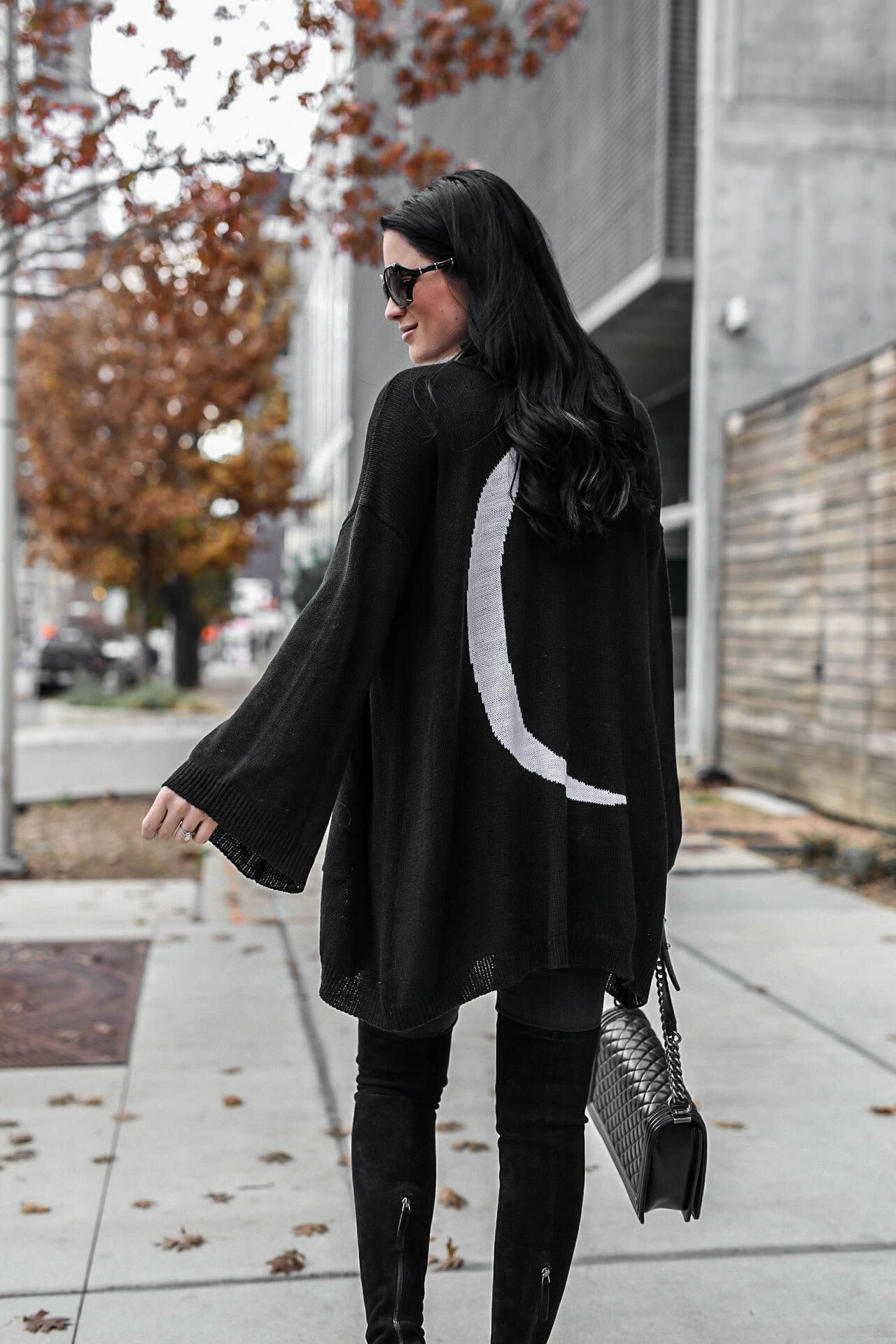 DTKAustin shares how to pull off an all black look as well as why she has 76bdd38ea6