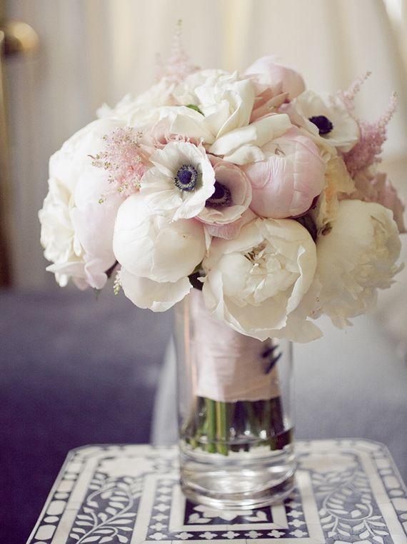 Anemone bouquet by Studio Blush | 100 Layer Cake