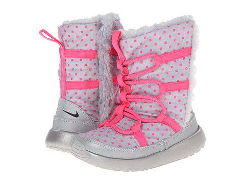 ada0a5580c2d Nike Kids Rosherun Hi Sneakerboot Flash (Toddler Little Kid)