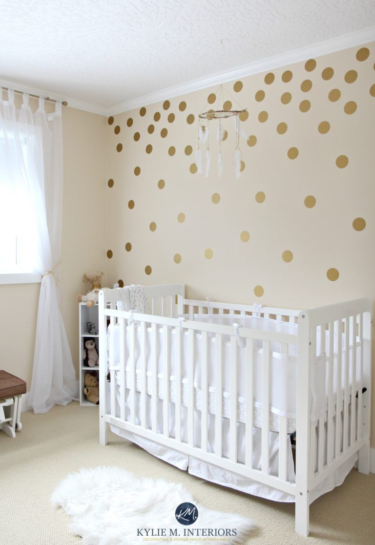 The 28 Best Cream Paint Colours: Benjamin Moore  Baby room wall