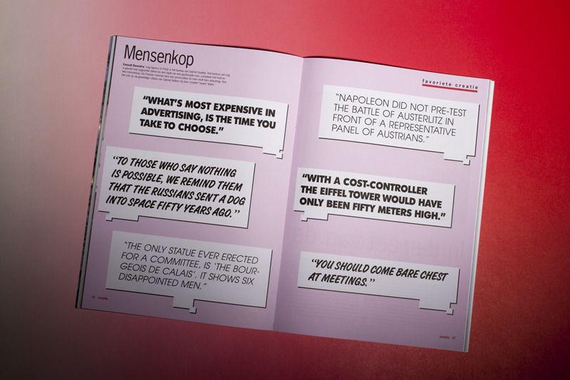 Creatie Magazine - Mr. Boonstra