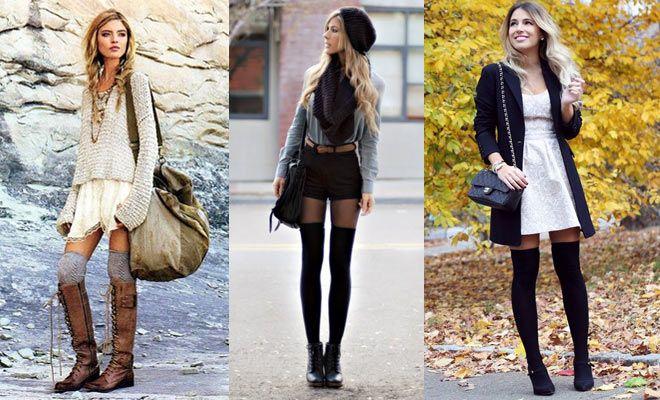 f0889931f Cómo combinar bucaneras: medias y botas | Moda | Botas con medias ...