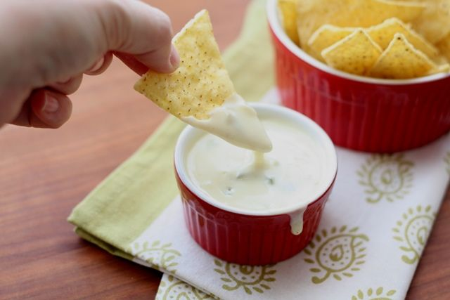 The Best Queso Blanco Dip Spicy White Cheese Dip Recipe By Barefeet In The Kitchen White Cheese Dip Recipe Food Recipes