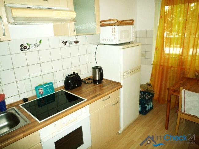 Die Küche ist teils fegliest und teils mit Laminat versehen ++ - grose fenster wohnzimmer
