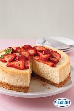 Behold, the perfect holiday cheesecake. De helft van dit recept gemaakt in kleine bakvorm. goed gelukt en lekker. volg keer fruit erop.