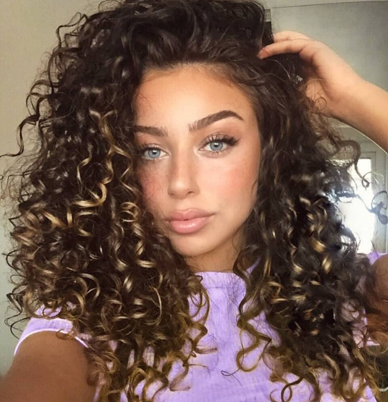 Curly Goals In 2019 Curly Hair Styles Cute Curly