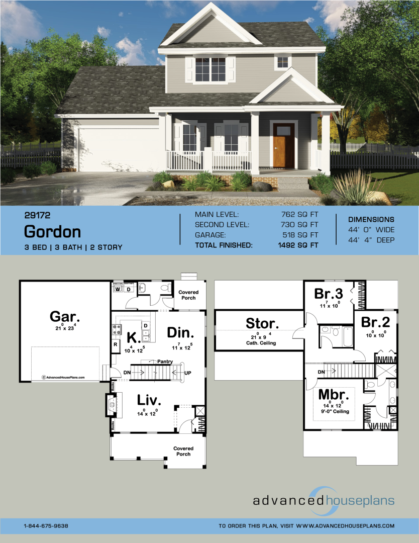 1 Story Traditional House Plan Gordon Affordable House Plans House Plans Sims House Plans