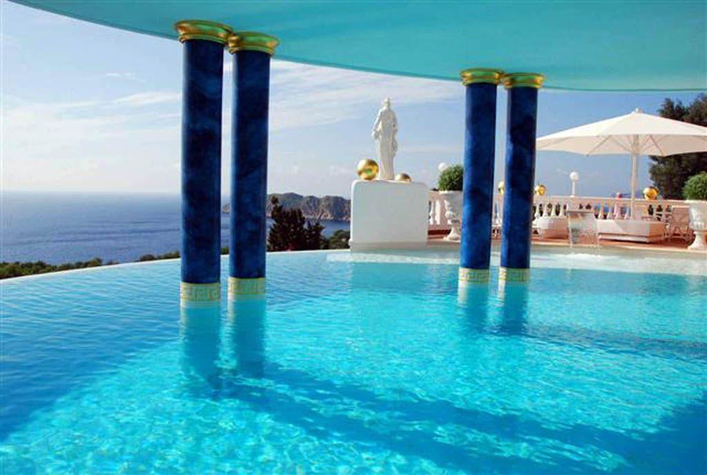 Villa Colani teil unterer pool ideas Futuristic home