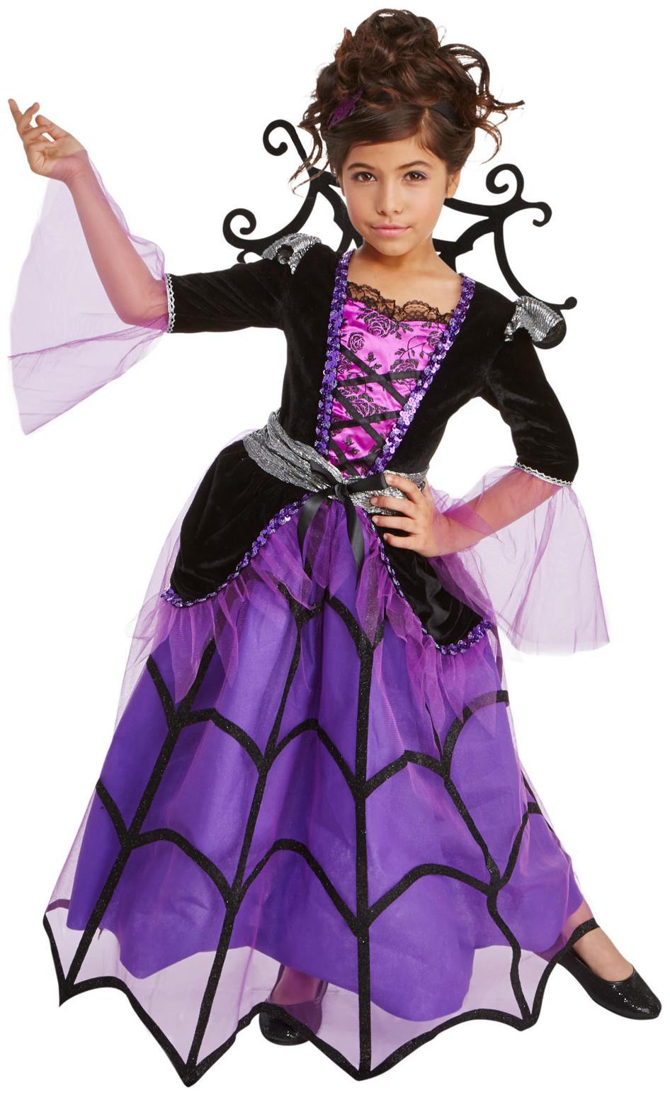 Sizzling Pick Splendid Spiderella Child Costume. Perfect