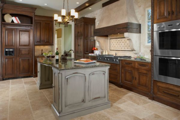 Gray Distressed Kitchen Cabinets Distressed Grey Kitchen Cabinets