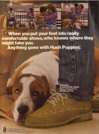 Hush Puppies Ad Vintage Outfits Hush Puppies Vintage Advertisements