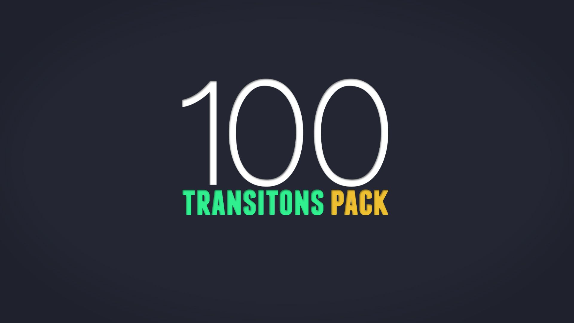 100 animated transitions pack for after effects template adobe
