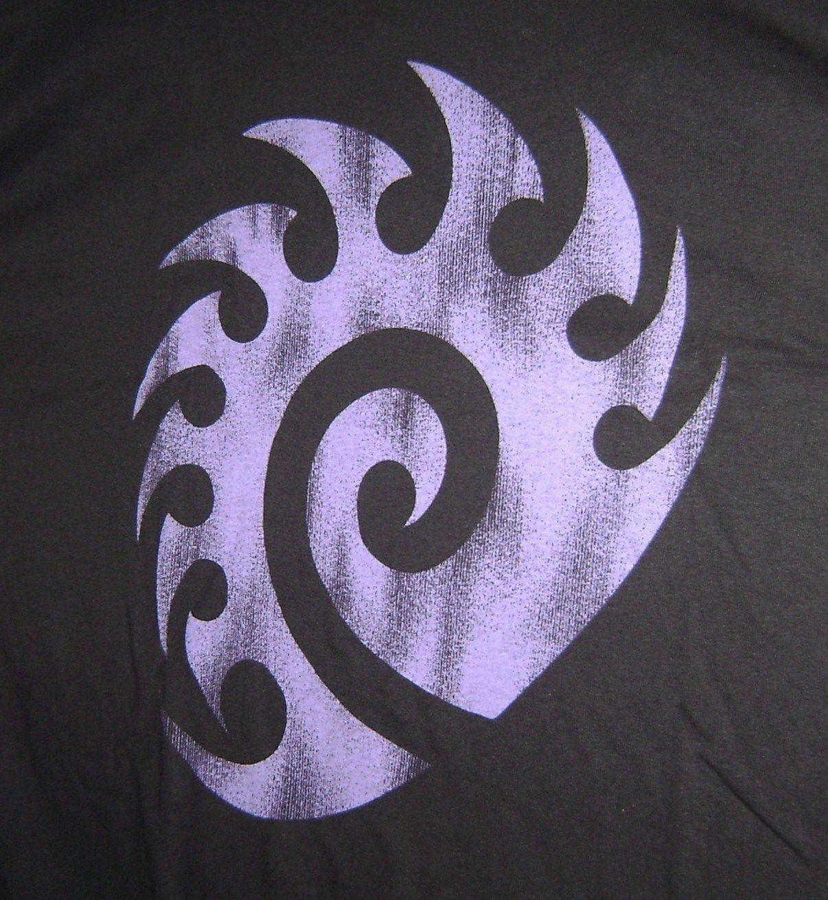 Starcraft Ii Zerg Logo Game T Shirt Xl New Blizzard Tee Products