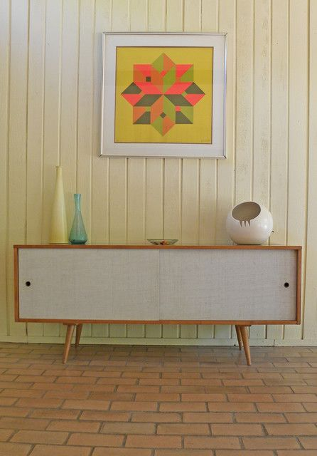 Vintage white short sideboard jen there was one of for Last design outlet