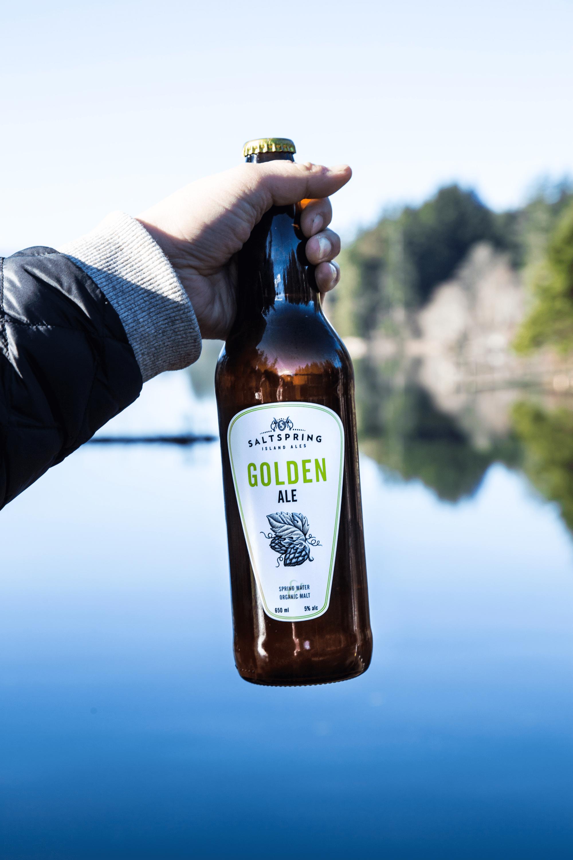 Handmade craft beer by Salt Spring Island Ales is made