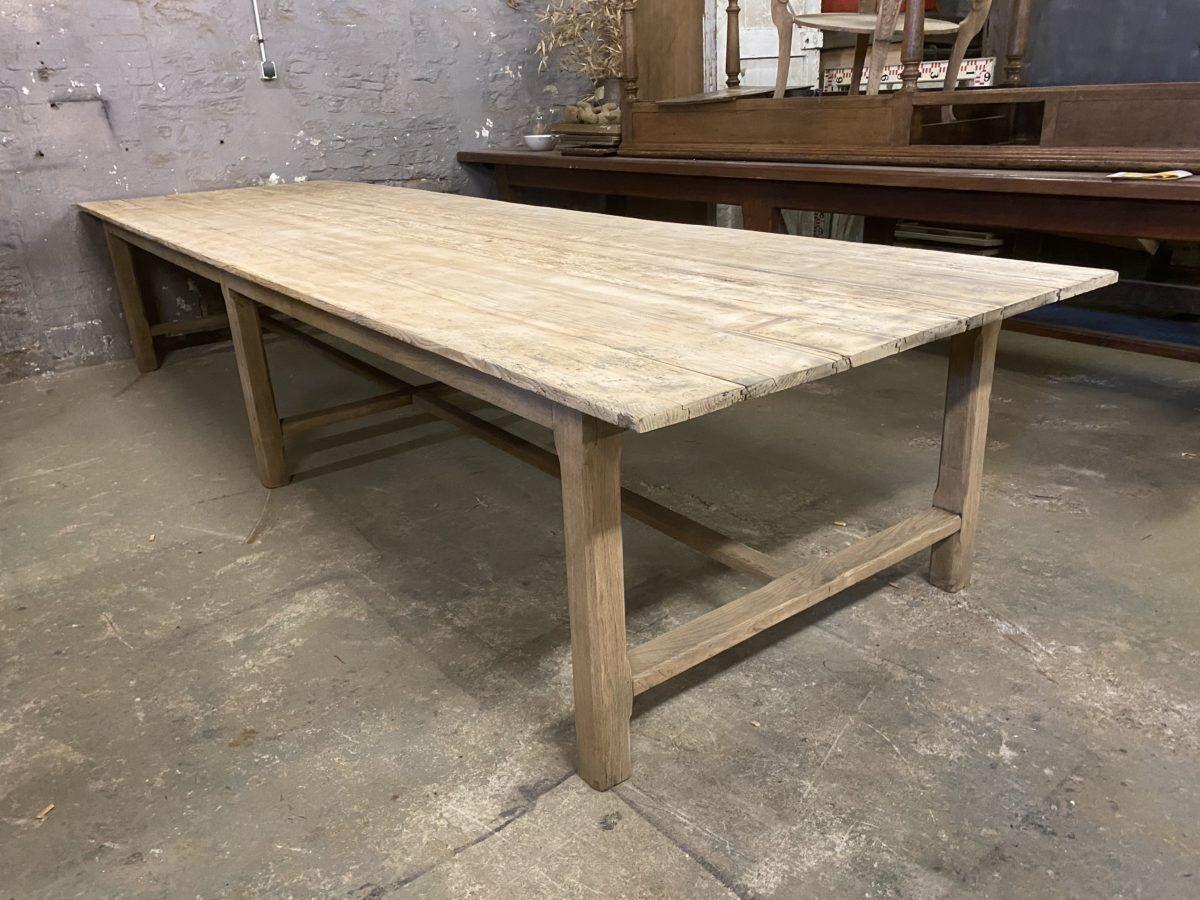 Immense table de ferme   Nord Factory   Table de ferme, Table ...