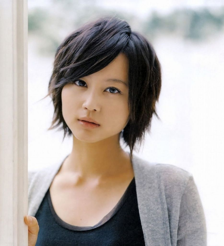 cute asian short hairstyles images about womens hair on