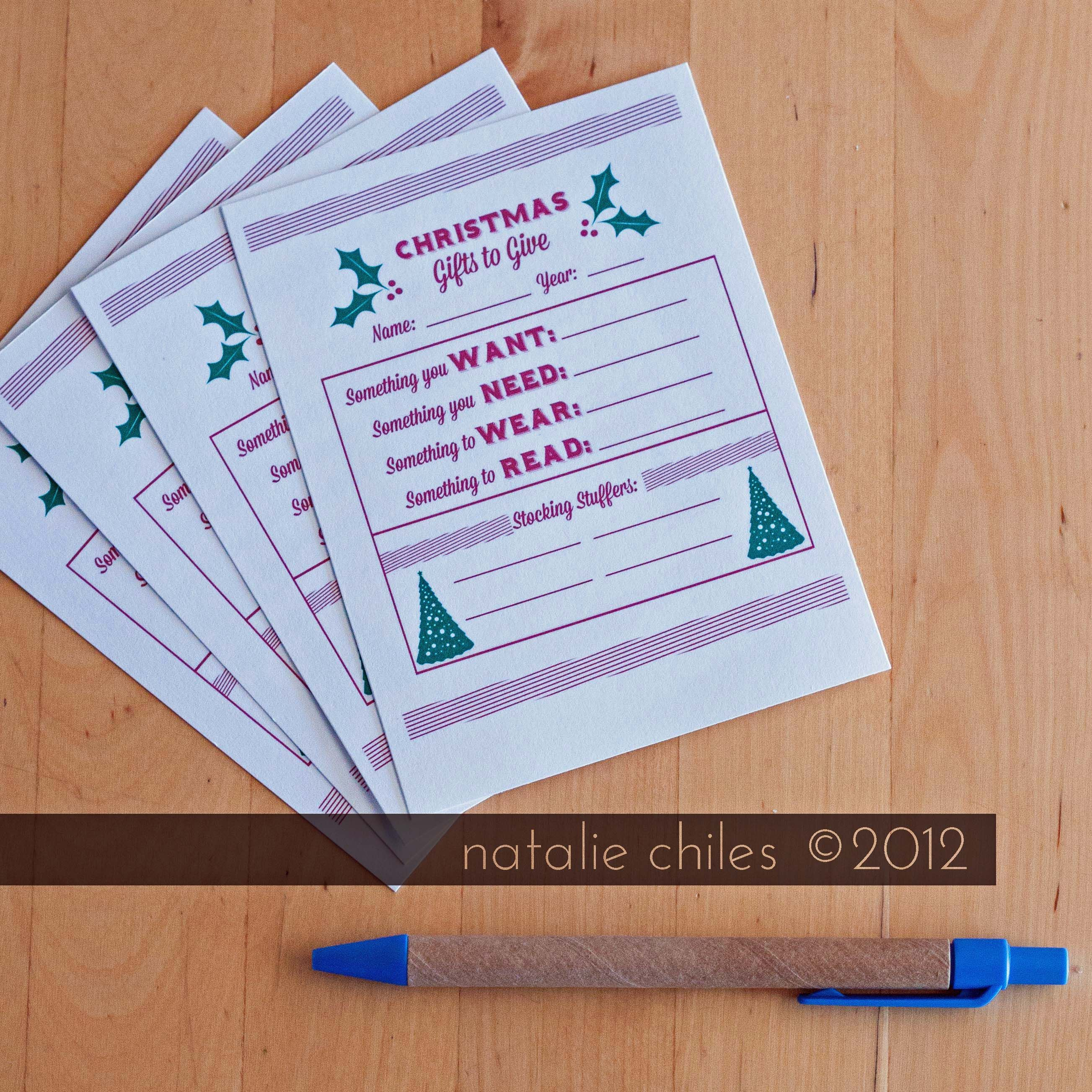 A Free Christmas Printable And And And A Totally Awesome