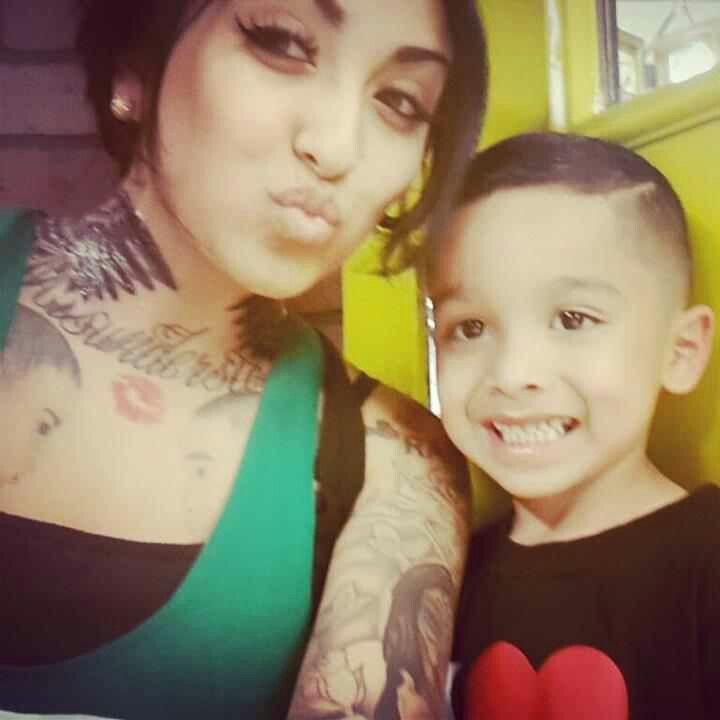 Nini smalls and her son ^.^   NiNi SmAlLs