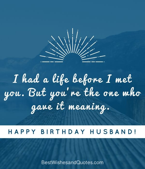 Happy Birthday Husband, Romantic