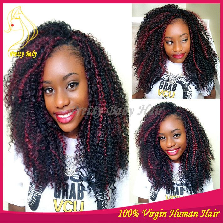 Online Get Cheap Red Highlights Curly Hair Aliexpress Www