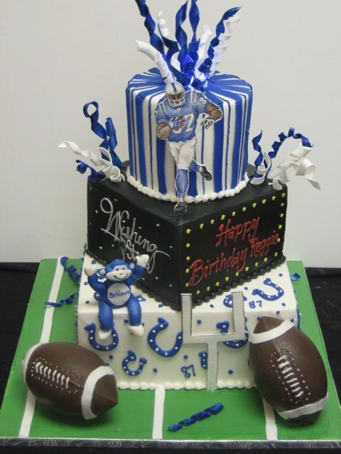 indianapolis wedding cakes bakery colt cakes images this cake was for indianapolis colts 16399