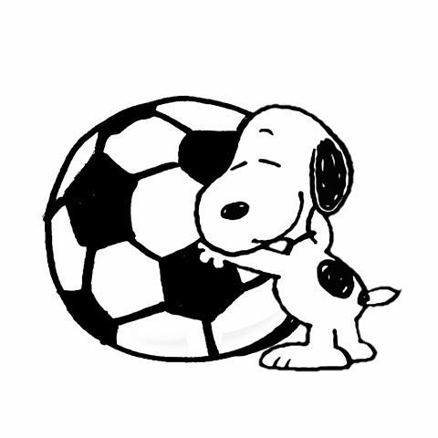 スヌーピー サッカー Snoopy Love Snoopy And Woodstock Cool Cartoons