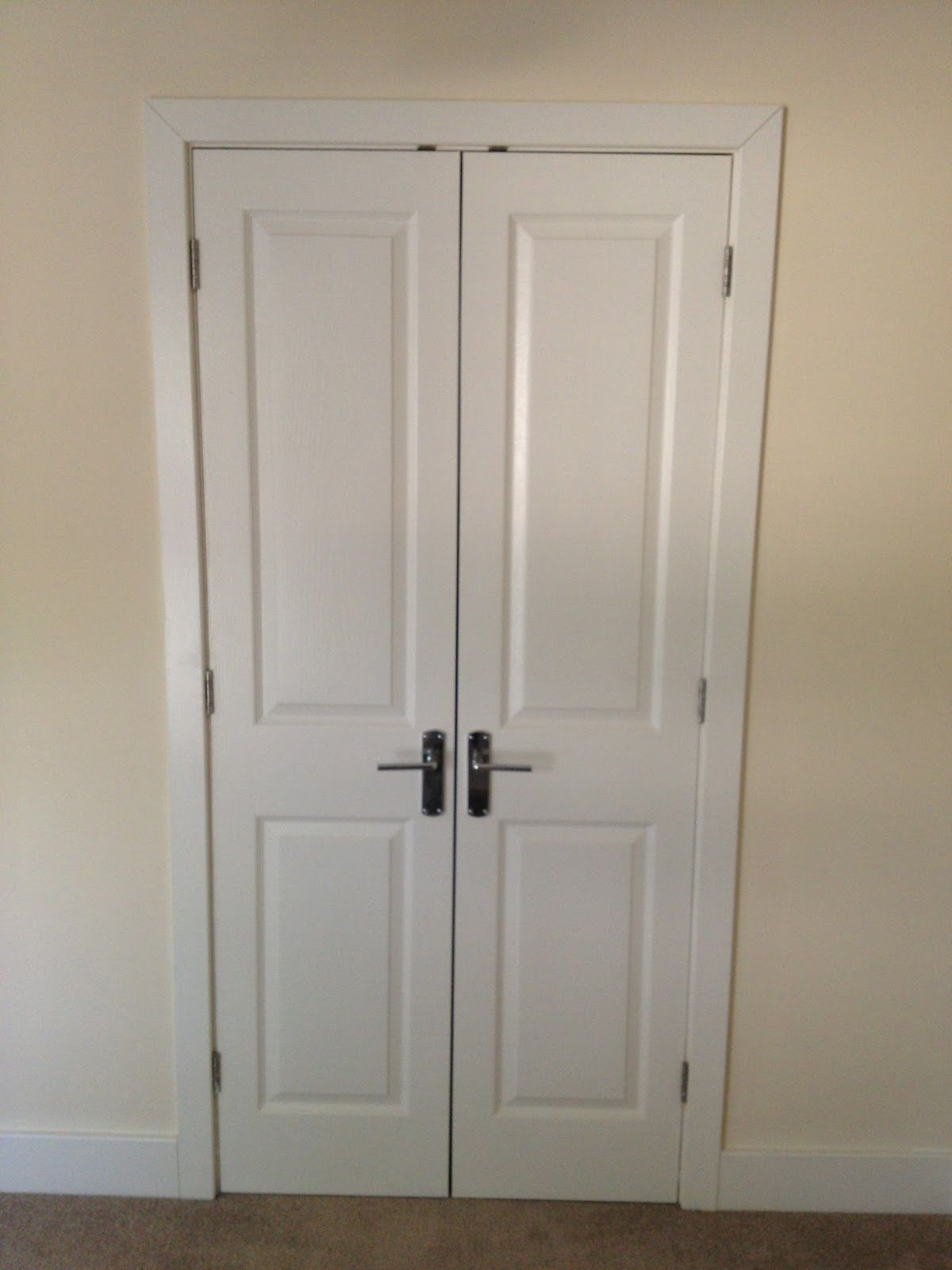 Highly Regarded Double Swing Doors Built In Wardrobe For Space Saving Furniture Small Closet Ideas