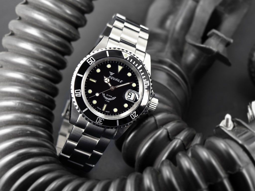 510 squale 20 atmos classic 1545 sel bracelet mk2 watches