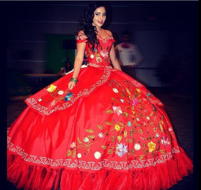 mexican quinceanera dresses