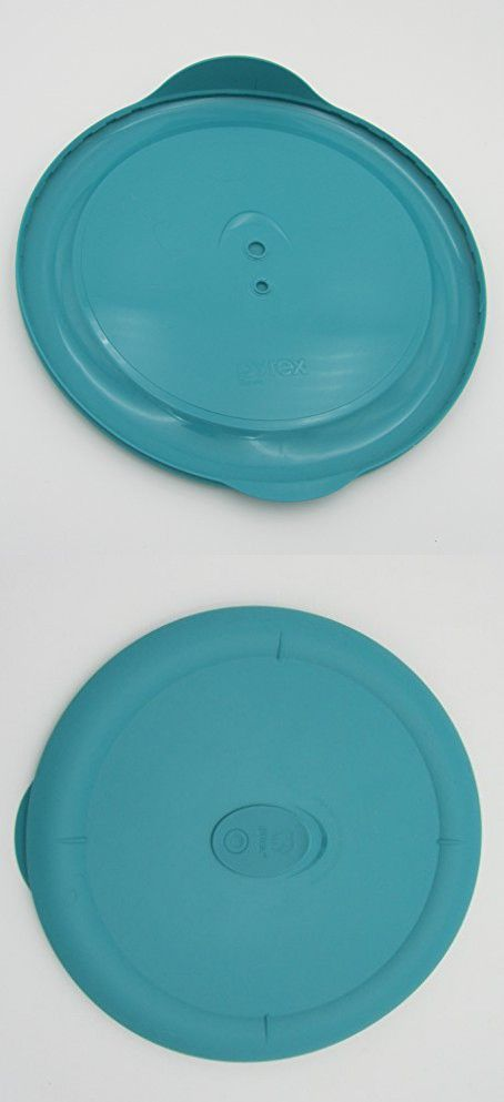Pyrex Deluxe - Turquoise 3 Quart Round Bowl Lid