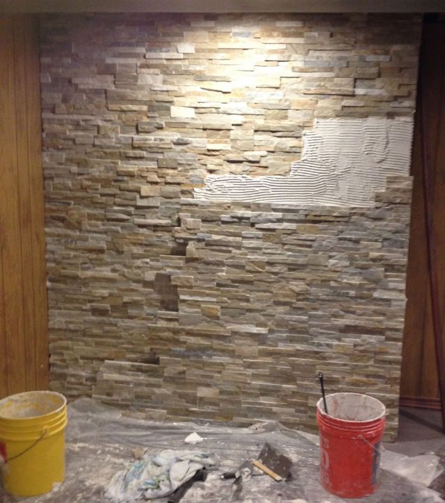 DIY Graceland-Style Rock Wall! | Graceland, Jungle room and Walls