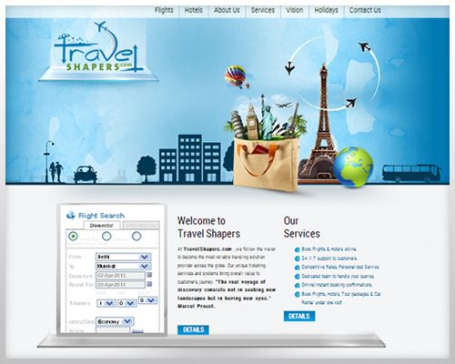 The newly designed website of Travel Shapers, an online travel assistance destination, is a brilliant example of the innovative #design and #development strategies of WebGuru. To know about the exclusive features incorporated within this site, read this blog.
